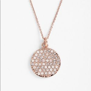 Kate Spade Idiom Rose Gold Make Me Blush Necklace
